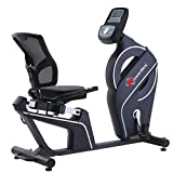 Powermax Fitness BR-900 Magnetic Recumbent Bike for Home Fitness