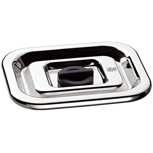WMF Top Serve Ersatzdeckel mit Frischeventil, rechteckig 26 x 21 cm, Ersatzteil für Frischhaltedose, Aufbewahrungsbox Glas, Aufschnittbox Glas