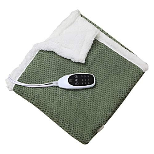 ZXJ Heated Throw Blanket, Machine Washable Velvet Blankets, Digital Controls-Overheat Protection,3,M
