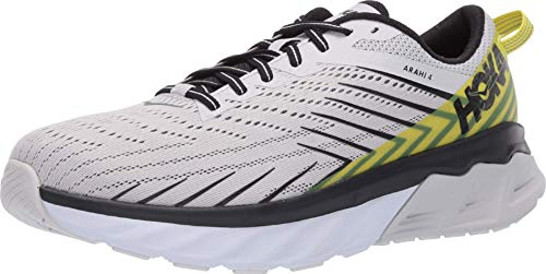 HOKA ONE ONE Men's Arahi 4 Running Shoes, Nimbus Cloud/Anthracite, 9.5 US