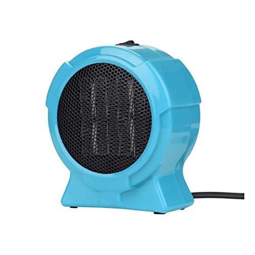 SZHWLKJ Mini Ventilateur de Chauffage, Chauffe-Ventilateur de Bureau, Mini-Rapide Chauffage électrique chaufferette sécurité réchauffeur d'air du Ventilateur Protection Contre la surchauffe Chauffage