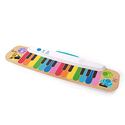 Baby Einstein Notes & Keys Magic Touch Wooden Electronic Keyboard Toddler Toy, Ages 12 Months +