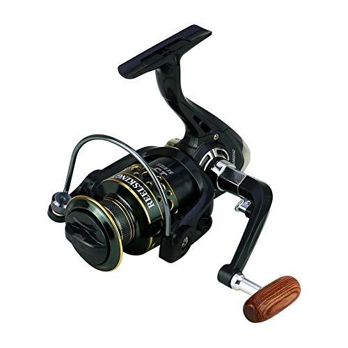 LIZHOUMIL KS7000 - Carrete de pesca con recipiente de alambre metálico