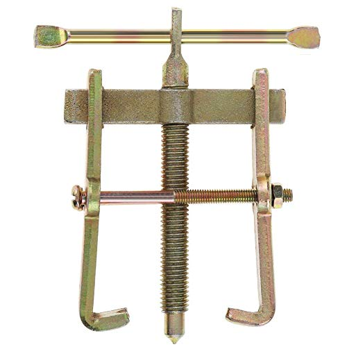 AMOYER 1pcs 3 Inch 2 Backenzahn Puller Mechaniker Lagerabzieher-Reparatur-Werkzeug-lenkrad-Remover-lagerabzieher Abzieher Extractor Tool (grün)