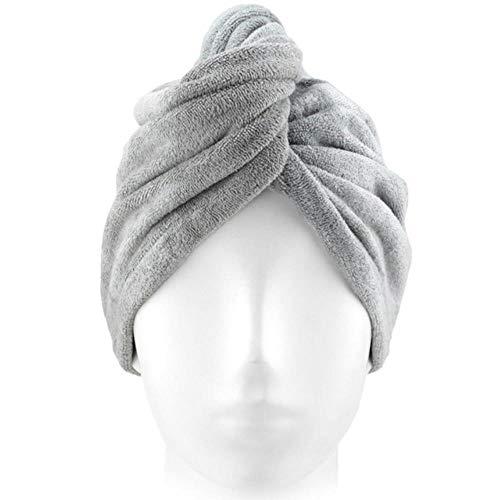 Anyuq66qq Bonnet De Douche Cheveux Séchage Rapide Femmes Couleur Unie Concise Cheveux Secs Cap Cap Velours Coral Épaisse Absorption D'Eau Serviette À