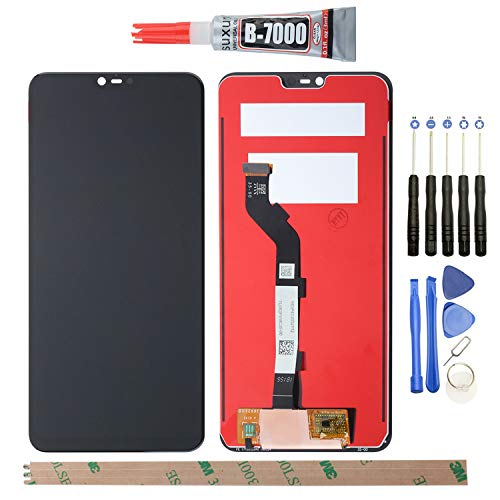 YHX-OU - Pantalla LCD + Conjunto de digitalizador táctil de Repuesto para XiaoMi Mi 8 Lite, Color Negro
