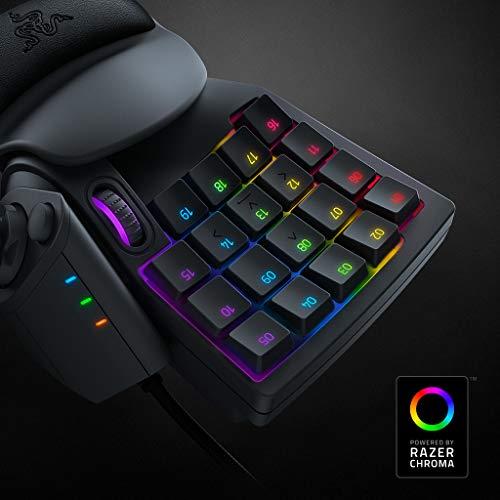 Razer Tartarus V2 - Gaming Keypad (Gamepad mit mecha-membranen Tasten, 32 programmierbare Tasten, 8-Wege Thumbpad, Handballenauflage, Hypershift, RGB Chroma Beleuchtung) Schwarz