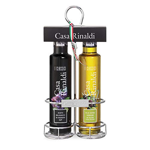 Balsamessig aus Modena IGP (250ml) - Natives Olivenöl Extra 100% italienisch (250ml)