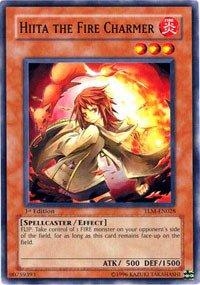 YU-GI-OH! - Hiita The Fire Charmer (TLM-EN028) - The Lost Millennium - Unlimited Edition - Common