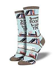 Unique Gifts for Book Lovers-Book Socks