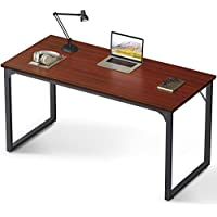 Coleshome 55 Inch Modern Simple Style Computer Desk