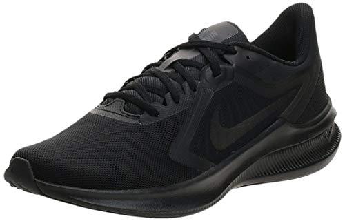 Nike Herren Downshifter 10 Laufschuh, Schwarz, 43 EU