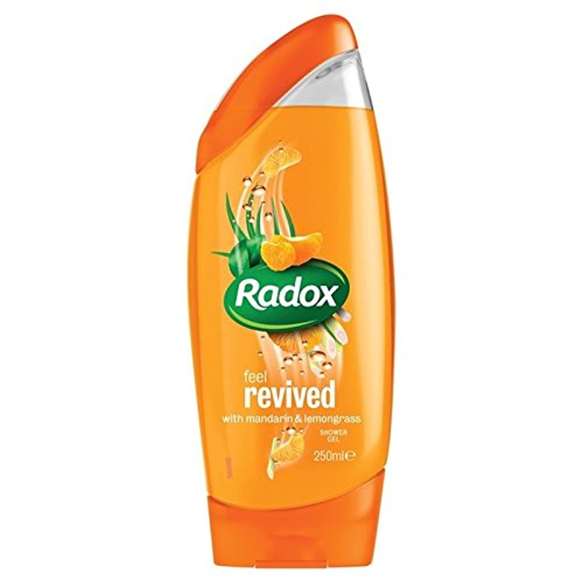 考案するスクラブ尊敬するのみかんは、シャワージェル250ミリリットルを復活させます x4 - Radox Mandarin Revive Shower Gel 250ml (Pack of 4) [並行輸入品]