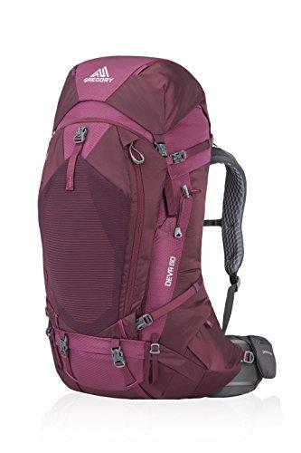 Gregory Mountain Products Women's Deva 60 Liter Backpack, Plum Red, Medium