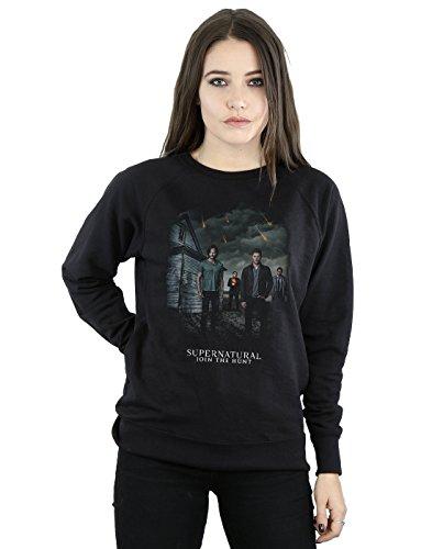 Supernatural Damen Meteor Shower Sweatshirt Large Schwarz