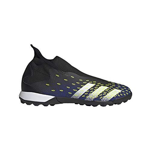 adidas Predator Freak .3 LL TF, Zapatillas de fútbol, NEGBÁS/FTWBLA/Amasol, 38 2/3 EU