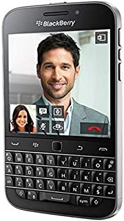 Blackberry Classic Q20-16GB, 4G LTE, English/Arabic, Black