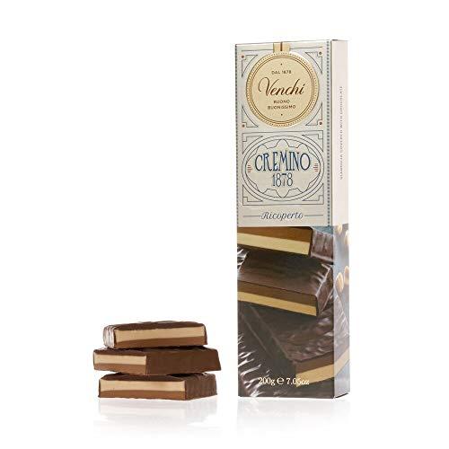 Venchi Barretta Gianduia Bigusto ricoperta di cioccolato fondente 200g