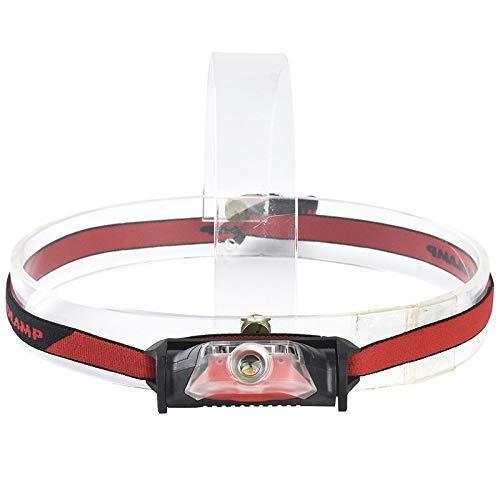 Faros delanteros 4 modos de luz LED impermeable linterna frontal linterna blanca + luz roja linterna de cabeza linterna antorchas estándar herramientas de mano