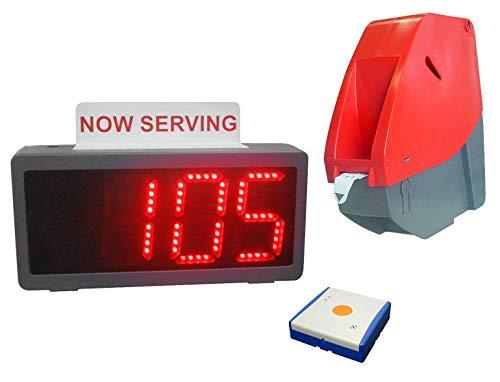 Pro-Lite Digi-Q Wireless Take A Number Ticket Dispenser System