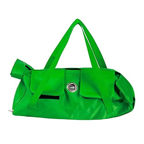 Pandago Pflegetasche für Katzen, zum Waschen von Nägeln, verhindert Beißen, Kratzen (grün)