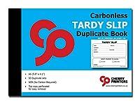 チェリー 簡単取り外し ターディー スリップブック カーボンレス コピー付き / 1冊あたり50(4.1×5.8インチ)スリップ。