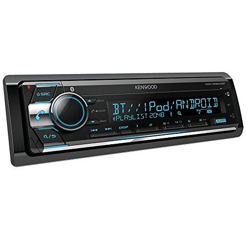 KENWOOD KDC-X5200BT Receptor Multimedia para Coche 1 DIN | Radio para Coche con Bluetooth, Reproductor de CD, entradas AUX Jack 3.5. y USB. Sintonizador de Radio RDS.