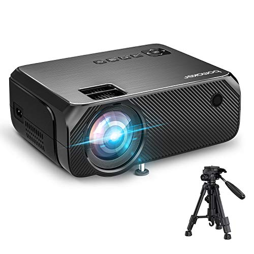【2020 Upgrade】 Videoprojecteur WiFi 6000 Lux Native 720p Soutien Le projecteur sans Fil BOMAKER Full HD 1080P Max 300 '' Compatible avec iPhone / Android Smart Phone / iPad / Mac / Laptop / PC