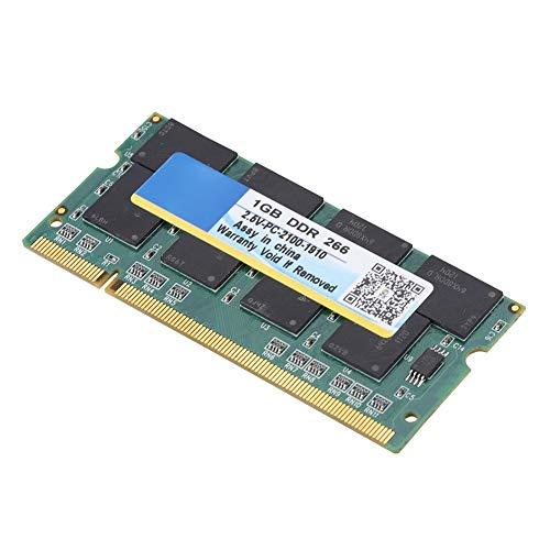 KUIDAMOS Memoria para computadora portátil, RAM para computadora portátil 266MHz para computadora para computadoras portátiles DDR PC-2100