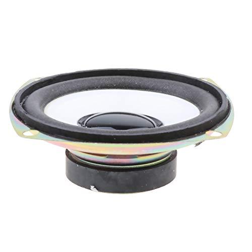 Fantastic Prices! Gazechimp 3 Inch Speaker 5W 4Ω HiFi Full-Range Speaker for DVD/Multimedia Sub-Box...