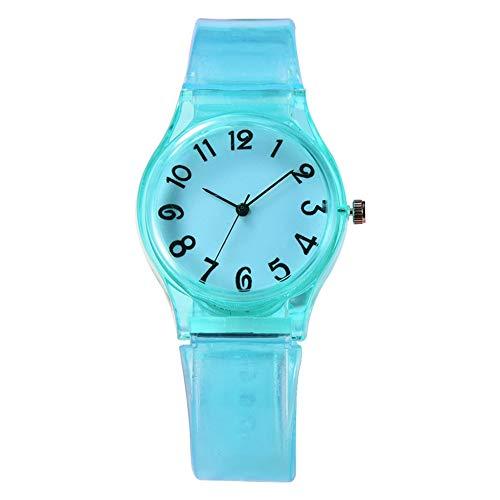 XR3364 Candy Color reloj de moda simple reloj reloj para el estudiante