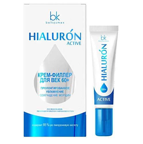 Eye Cream Filler 60+ Prolonged Hydration & Wrinkle Reduction Hialuron Active Belkosmex