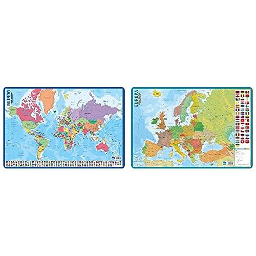 Grupo Erik Editores Lamina Educativa Mapa Del Mundo + Editores