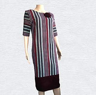 Emoltem Womens PLUS Size Short Sleeve dress