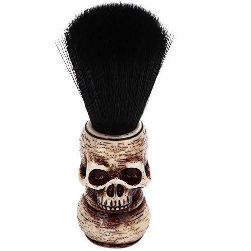 Brosse à barbe de rasage portable, brosse à barbe de nettoyage de cheveux doux pour hommes pour salon de coiffure professionnel et usage domestique général