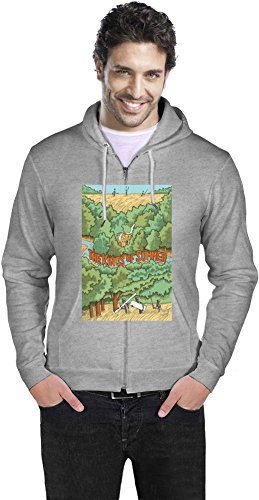 The Kings Of Summer Poster Mens Zipper Hoodie Small