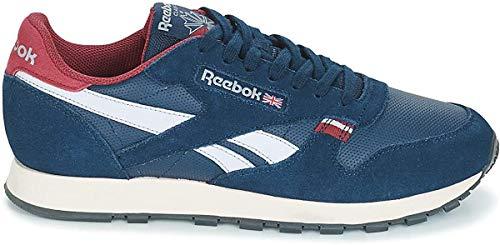 Reebok Herren Classic Leather CN7178 Sneaker, Blau (Navy Cn7178), 41 EU