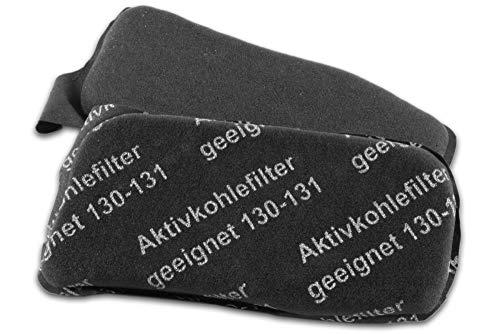 Hochwertiger Filter, Kohlefilter, Aktivkohlefilter, Geruchsfilter, Motorfilter passend für Vorwerk Kobold VK 130 VK 131 VK 131SC - filtert unangenehme Gerüche bei Staubsaugen aus der Luft
