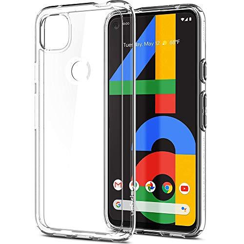Spigen Ultra Hybrid Hülle Kompatibel mit Google Pixel 4a -Crystal Clear