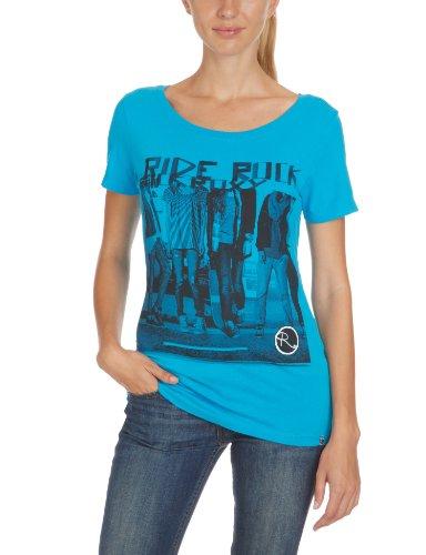 Roxy Good Looking-WPWJE911G T-Shirt manche courte femme Poppy Blue XL