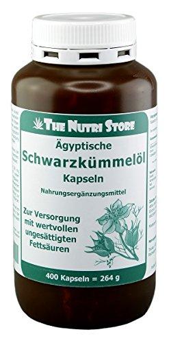Schwarzkümmelöl 500 mg Ägyptisch Kapseln 400 Stk.