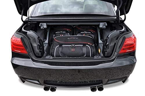 KJUST Dedizierte Reisetaschen 3 STK kompatibel mit BMW 3 Cabrio E93 2006 - 2013