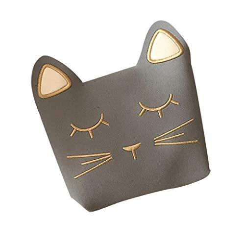 Kleine Mädchen Kleine Umhängetasche Geldbeutel Nette Katze-Schulter-Beutel-Schulmappe Für Kinder Kleinkinder Handtaschen-Süßigkeit-Speicher-Beutel