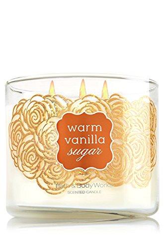 Bath & Body Works Warm Vanilla Sugar 3 Wick Candle 14.5oz