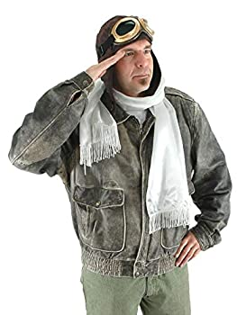 Aviator Costume Accessory Kit with Hat Goggles and Scarf