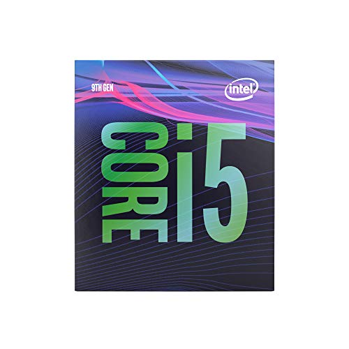 Intel Core i5-9500 - Procesador (9th Gen Intel® Core™ i5, 3 GHz, LGA 1151 (Zócalo H4), PC, 14 NM, i5-9500)