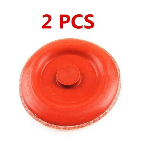 ScottDecor Fuel Filter Separador de Agua de Aceite de 2/4 / 8 / 10P Válvula de Escape Diafragma de Caucho Funda de Sello (Color : 2X Seal Cover)