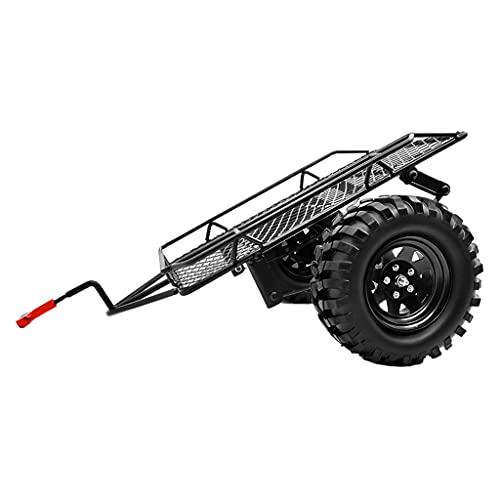 sharprepublic de Metal RC Racing Remolque Ruedas de Metal Hub Portador de Carga Axial SCX10 RC 4WD CC01 1/10 Rock Crawler