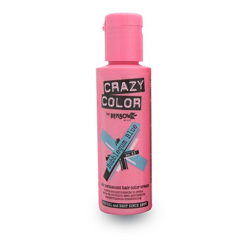 Crazy Color by Renbow 63 Bubblegum Blue 100 ml