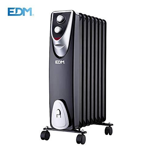 EDM Radiador Black Edition sin Aceite 8 Elementos